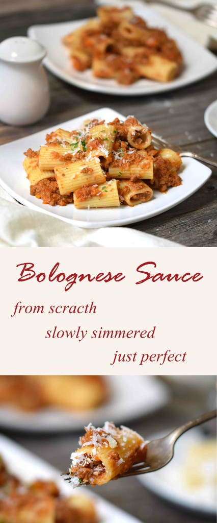 Comfort food to its maximum gourmet elevation. This bolognese sauce is cooked with milk, wine and real tomatoes; slowly simmered to perfection.