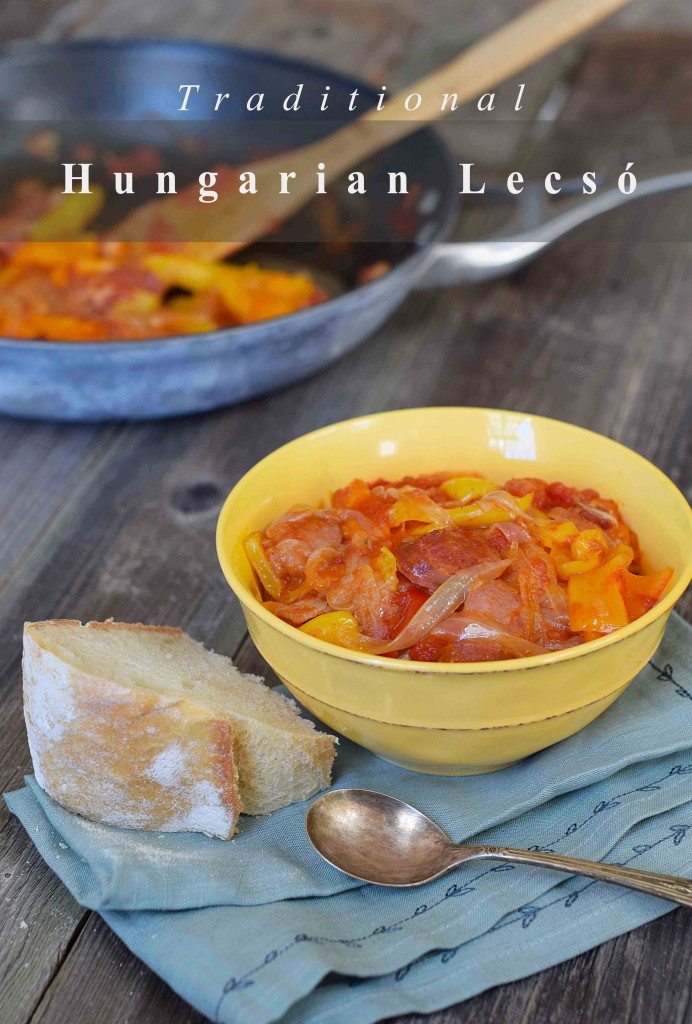 authentic Hungarian lecso, easy, healthy and delicious.