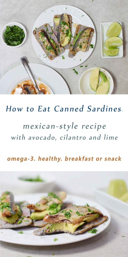 How to Eat Canned Sardines: Mexican-style recipe